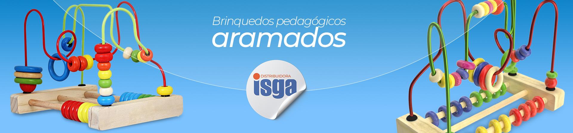 Brinquedos aramados - ISGA